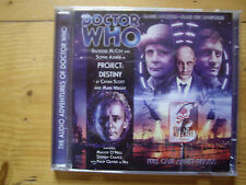 Doctor Who Project Destiny, 2010 Big Finish audio book CD