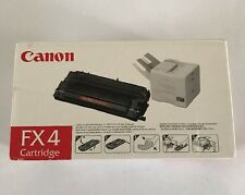 Canon FX4 FX-4 Black Toner Laser Cartridge New Open Box