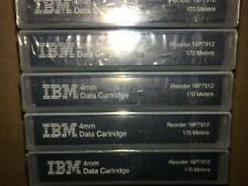 5 IBM DAT72 Data Tape Cartridges 36/72GB PN 18P7912  NEW factory sealed