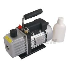 Neilsen 3cfm Vacuum Pump Two Stage Performance  A/C or Refrigeration 3793