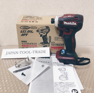 Makita TD172D Impact Driver TD 172 DZ AR Authentic Red 18V Only Body ETD 24 NEW