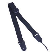 1Pc Black Nylon Adjustable Ukulele Strap Ukulele Sling Folk Musical Instruments