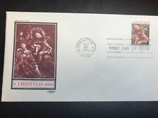 #2427 FDC 1989 Artmaster 25c Christmas Traditional