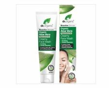 2 x 150ml Dr Organic Creamy Face Wash - Organic Aloe Vera 300ml