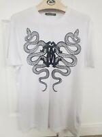 Roberto Cavalli Tshirt White Size 2XL Top Designer
