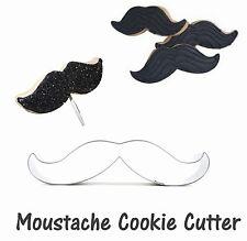 Mustache Moustache Mow shaped cookie cutter