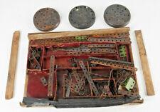Konvolut (3) Märklin-Metallbaukasten-Teile  von ca. 1920 , s. Fotos