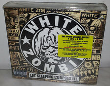 4 CD + DVD WHITE ZOMBIE - LET SLEEPING CORPSES LIVE - NUOVO NEW