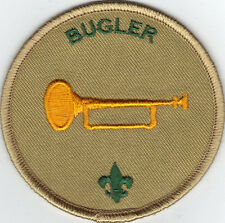 """Bugler Position Patch (2015- Current), Tan Brd, """"Since 1910"""" Backing, Mint!"""