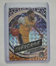 2019-20 Panini Mosaic Anthony Davis Overdrive Mosaic Prizm - Lakers