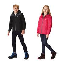 Regatta Brekton Boys Girls Lightweight Warm Waterproof Jacket