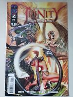 TRINITY: BLOOD ON THE SANDS #1 (2009) TOPCOW IMAGE COMICS WITCHBLADE! DARKNESS!