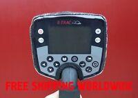 Rain dirt dust cover for Minelab E-Trac/Etrac metal detector