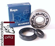 2 Crankshaft Bearings + 2 Oil Seal-HONDA CR 500 -' 84 -'01-Aftermarket