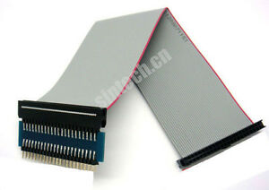 Sintech 2set 44pin IDE male to male extension adapter card+10cms cable 4 DOM SSD