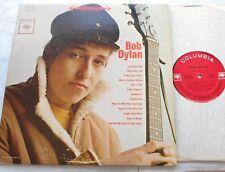 "BOB DYLAN S/T Ex to NM- USA 1962 Debut Self Titled 2 Eye Black STEREO LP ""She's"""
