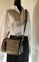 Steve Madden Crossbody Satchel Messengers Black  floral Shoulder Purse Handbag