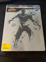 BLACK PANTHER 4K Ultra HD + BLURAY + Digital STEELBOOK Best Buy MARVEL