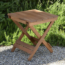 Outdoor Garden Table Wooden Patio Folding Adirondack Hardwood Plant Theatre