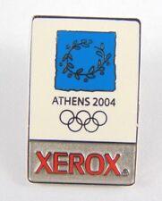 Athens Olympic Games 2004 Pin Badge - Emblem Xerox Sponsored Enamel Badge