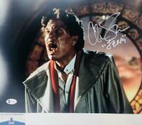 Chris Sarandon signed JERRY FRIGHT NIGHT 11X14 photo BAS COA WAO4906