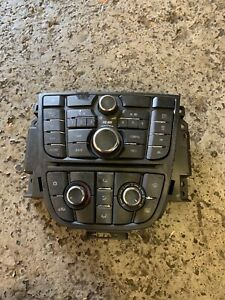 2010 Vauxhall Opel Astra AC Heater Climate Control CD Player Head Unit 13346050