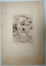 Auguste Gorguet. Eau-Forte. Exposition Universelle 1900. Banquet de la presse