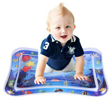 Inflatable Tummy Time Water Play Mat Pad Leakproof Water Filled Baby Playmat Usa