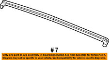 Jeep CHRYSLER OEM 09-17 Wrangler WINDSHIELD-Upper Weather Strip 55397454AM