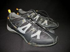 ECCO Men's Black Leather Mesh Quick Lace Liteweight  Running Shoes Men's 13-13.5