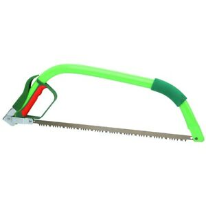 """Durable 21"""" Blade Bow Saw Hardened Teeth Wood Sawing Pruning Cutting Hand Tool"""