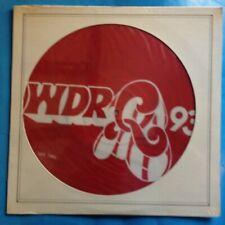 """Various-WDRQ 93 FM (Detroit) 12"""" PICTURE DISC-'79 CBS-Pic Disc M/M  SEALED-PROMO"""