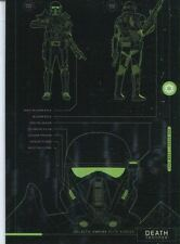 Star Wars Rogue One Blueprints Chase Card BP-3 Death Trooper