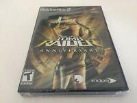 Lara Croft: Tomb Raider Anniversary (Sony PlayStation 2, 2007) PS2 NEW