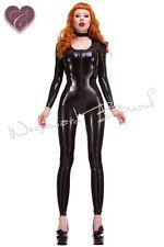 R1608 RUBBER Gummi LATEX Mia CATSUIT *BLACK* Last Few £271.95 - £312.74