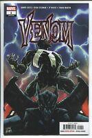 Venom #1 Marvel comic Donny Cates 1st Print 2018 unread NM