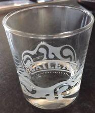 Baileys Irish Cream Tumbler Glass Etched Logo Collectable R & A Bailey & Co 2011