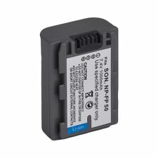 2X(New Battery for Sony NP-FP50 Compatible With NP-FP70 NP-FP90 NP-FP30 Camco TD