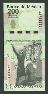 MEXICO 200 PESOS 2008   P- 128 UNC