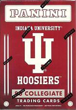 2016 Panini Indiana Hoosiers Collegiate Multi-sport Blaster 2-box Lot