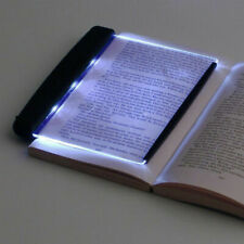 LED Light Wedge Eyes Protect Panel Book Reading Lamp Paperback Night Vision