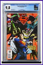 Superman Batman #86 CGC Graded 9.8 DC September 2011 White Pages Comic Book