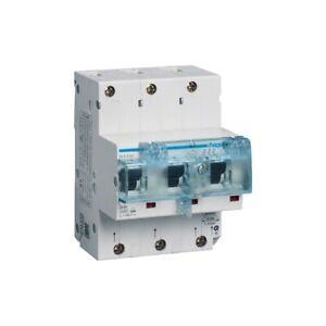 Hager HTN350E SLS-Schalter 3-phasig E-50A 4,5 PLE für Hutschienenmontage