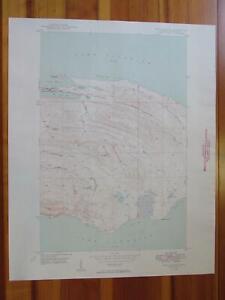 Fort Wilkins Michigan 1949 Original Vintage USGS Topo Map
