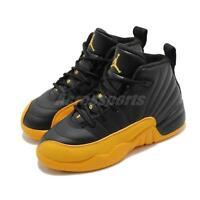 Nike Air Jordan 12 Retro PS XII University Gold Black Kid Preschool 151186-070