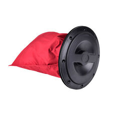 "New 8"" Deck Plate Boat Kayak Canoe Storage Bag Cover Kit Hatch T7H7 New"