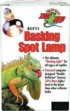 Reptile Heat Lamp Bulb Heater Light Night Spot Emitter Basking Watts Set 1 UVA .