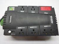 Cyber Power 425VA 6 Outlets UPS Battery backup (No Battery)