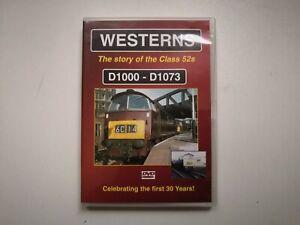 TVP Westerns Story Of The Class 52s D1000-D1073 DVD