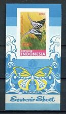 38364) INDONESIA 1988 MNH** Butterflies s/s Imperforated ND